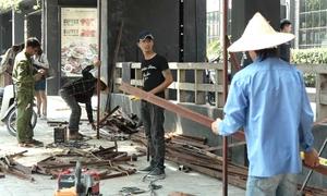 Hà Nội giải tỏa hơn 20 công trình trên mương thoát nước