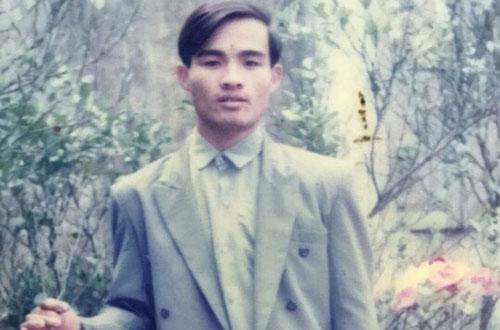 Phạm Văn Xương trong tài liệu cảnh sát. Ảnh cơ quan công an cung cấp.