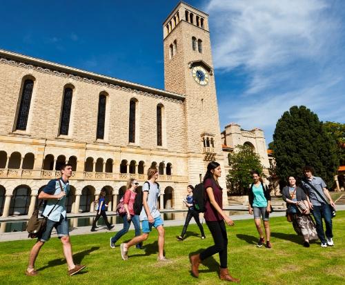 Uni of Western Australia là một trong những trường thuộc top tại xứ sở chuột túi.