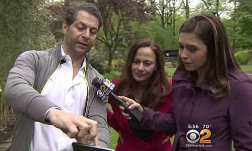Vợ chồng Matthew và Maria trả lời phỏng vấn. Ảnh: CBS.