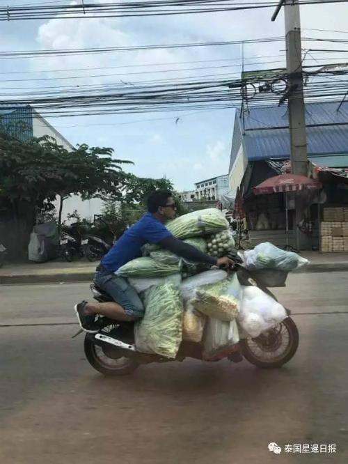 Người vận chuyển đời thực.
