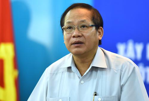 Bộ trưởng Trương Minh Tuấn. Ảnh: Giang Huy