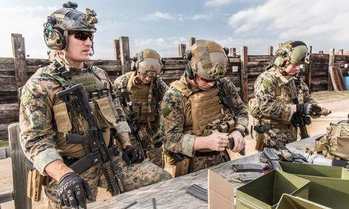 Binh sĩ đặc nhiệm Mỹ trong quá trình huấn luyện. Ảnh: USSOCOM.