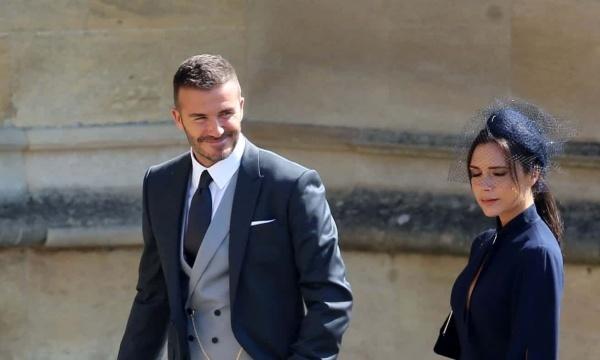 Vợ chồng David Beckham. Ảnh: