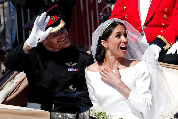Nét truyền thống và hiện đại trong đám cưới Hoàng tử Harry
