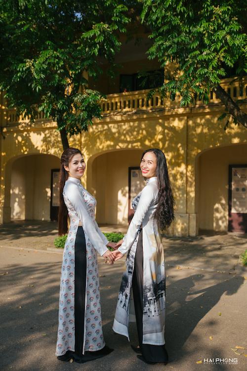Bộ sưu tập áo dài mang tên 30 ngôi trường THPT - 9