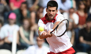 Kei Nishikori 1-2 Novak Djokovic