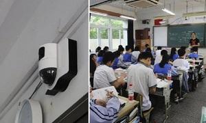 Trường Trung Quốc dùng công nghệ cao phát hiện học sinh buồn ngủ