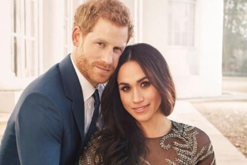 Hoàng tử Harry và hôn thê Meghan Markle. Ảnh: ABCNews.