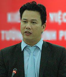 Ông Đặng Quốc Khánh - Chủ tịch Hà Tĩnh. Ảnh: Đức Hùng