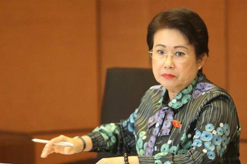 Bà Phan Thị Mỹ Thanh - nguyên Phó bí thư Tỉnh ủy Đồng Nai. Ảnh: V.V.T.