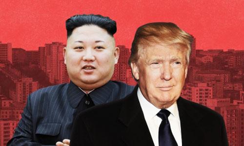 Lãnh đạo Triều Tiên Kim Jong-un (trái) và Tổng thống Mỹ Donald Trump. Ảnh: CNN.