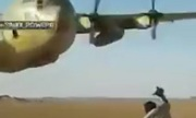 Vận tải cơ 38 tấn bay sượt đầu lính Arab Saudi