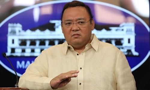 Ông Harry Roque, phát ngôn viên của Tổng thống Philippines. Ảnh: Inquirer.