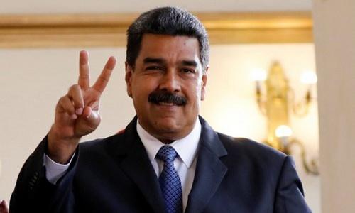 Tổng thống Venezuela Nicolas Maduro. Ảnh: Reuters.