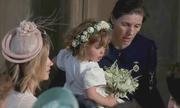 Phù dâu nhí bật khóc trong lễ cưới Hoàng gia Anh