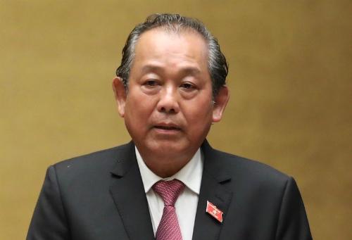 Phó thủ tướng Trương HoàBình. Ảnh: VGP/Lê Sơn