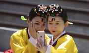 Những thiếu nữ Hàn Quốc rạng ngời trong lễ trưởng thành