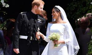 Tâm trạng lo lắng của Hoàng tử Harry trong đám cưới