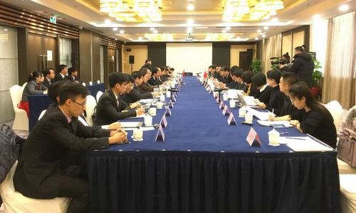 Cuộc đàm phán vòng 10 diễn ra hồi cuối năm 2017 tại Trung Quốc. Ảnh: TTXVN.