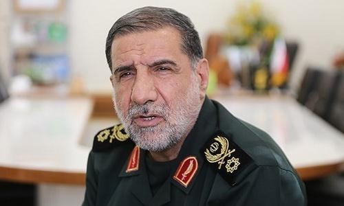 Tướng Ismail Kowsari, phó tư lệnh Vệ binh Cách mạng Sarollah. Ảnh: Fars News.