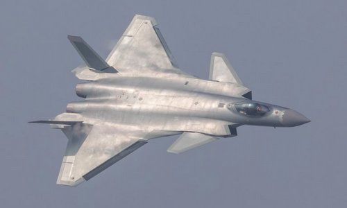 Tiêm kích tàng hình J-20 của Trung Quốc. Ảnh: Reuters.