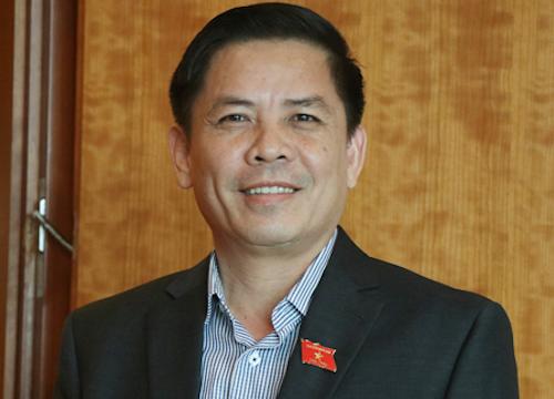 Bộ trưởngGiao thông Vận tải Nguyễn Văn Thể. Ảnh: Võ Hải