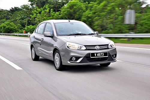 Proton Saga dòng xe nội địa của Malaysia có giá từ khoảng 8.400 USD. Ảnh: Carsifu.