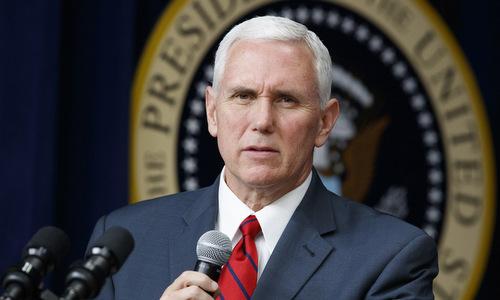 Phó tổng thống Mỹ Mike Pence. Ảnh: Politico.