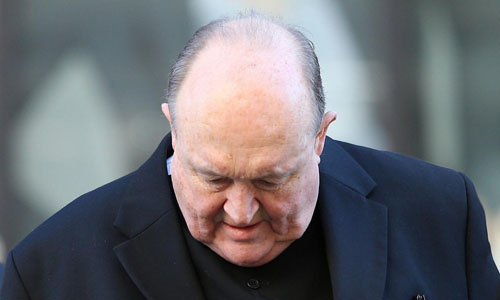 Tổng giám mục thành phố Adelaide Philip Wilson. Ảnh:Reuters.