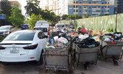 Không có chỗ gửi, dân chung cư để ôtô ở bãi rác