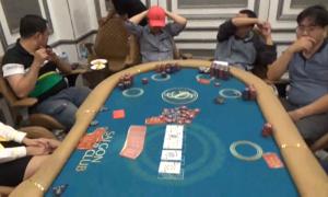 Cảnh sát đột kích khách sạn ở Sài Gòn, bắt 70 người sát phạt Poker
