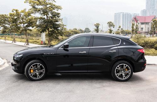 So với các đối thủ như Cayenne hay Range Rover Sport, Levante đậm chất coupe hơn cả.
