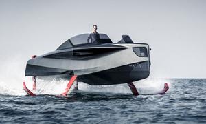Du thuyền cánh ngầm có thể tự nâng khỏi mặt nước