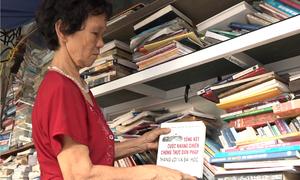 Thư viện miễn phí hơn 10.000 đầu sách của cụ bà Hà Nội