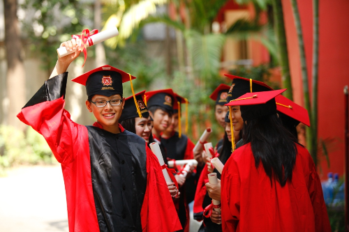 Nhiều học sinh VAS đã giành được học bổng có giá trị.