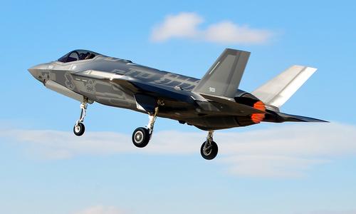Tiêm kích F-35I bay thử hồi đầu năm 2018. Ảnh: IAF.