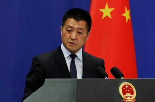 Người phát ngôn Bộ Ngoại giao Trung Quốc Lục Khảng. Ảnh: Reuters.