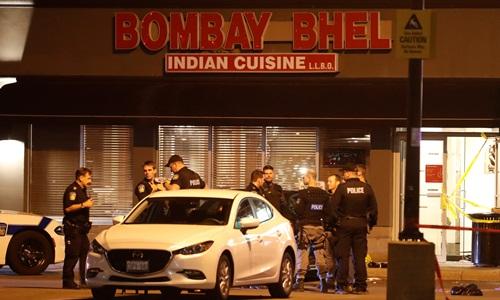 Vụ đánh bom xảy ra tại nhà hàng Bombay Bhel đêm 24/5. Ảnh: Reuters.