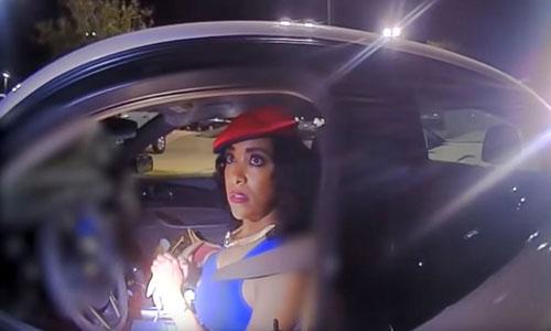 Đoạn video quay từ xe của cảnh sát Daniel Hubbard hôm 20/5 cho thấy anh vô tội. Ảnh: Sở An toàn Công cộng Texas.