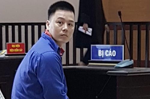 Bị cáo Cao Mạnh Hùng tại phiên tòa phúc thẩm.