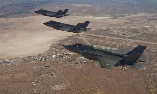 Các chiến đấu cơ F-35 của Mỹ. Ảnh: Reuters.