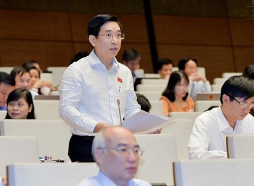 Đại biểu Nguyễn Văn Cảnh. Ảnh: QH.