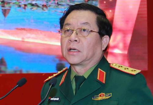 Thượng tướng, Phó chủ nhiệm Tổng cục Chính trịNguyễn Trọng Nghĩa. Ảnh: PV