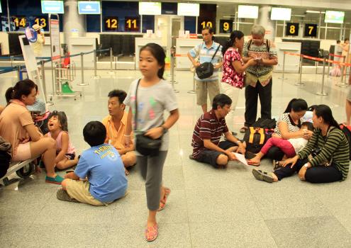 Thay vì dùng Chậm huỷ chuyến, Cục Hàng Không Việt Nam dùng cụm từ chuyến bay không đúng giờ cho bớt u ám.Ảnh minh hoạ: Nguyễn Đông
