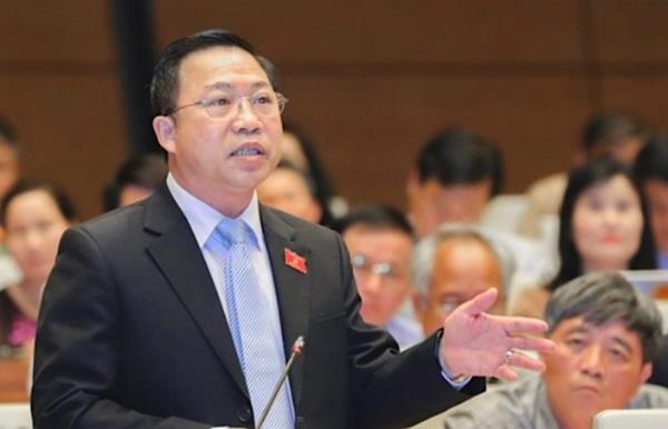 Đại biểu Lưu Bình Nhưỡng - Uỷ viên thường trực Uỷ ban về các vấn đề xã hội. Ảnh: QH