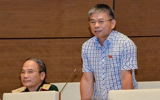 Đại biểu Nguyễn Thanh Hồng, Uỷ viên thường trực Uỷ ban Quốc phòng và An ninh. Ảnh: QH
