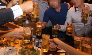 80% nam giới thường xuyên uống bia: Đàn ông Việt quá ham nhậu?