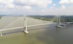 Khánh thành cầu Cao Lãnh bắc qua sông Tiền