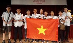 Việt Nam đứng thứ hai cuộc thi Olympic Toán châu Á - Thái Bình Dương